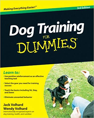 Dog Training for Dummies book cover